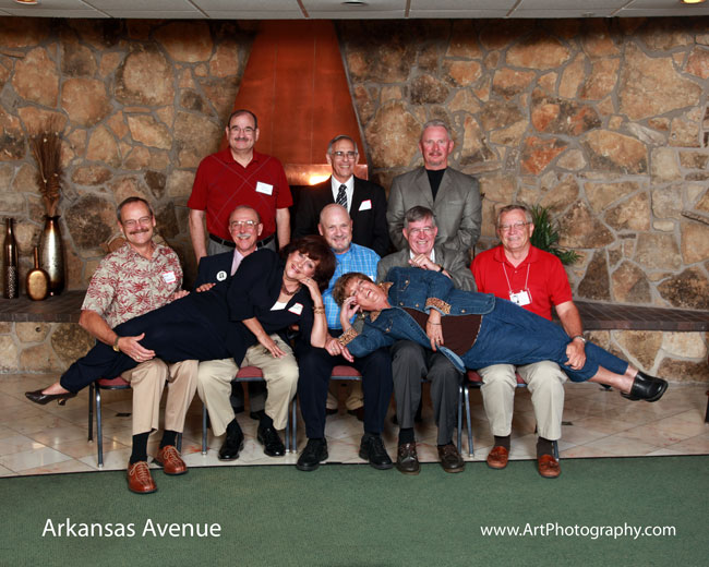 Arkansas Grade School - Fun Class Reunion Photo